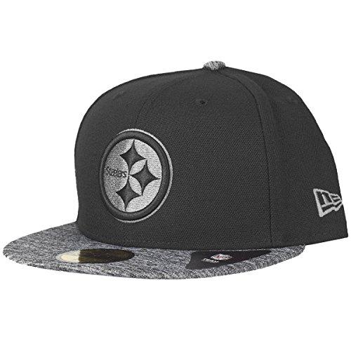 New Era 59Fifty Fitted Cap - Grey II Pittsburgh Steelers 712