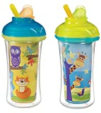 Munchkin Click Lock Insulated Straw Cup,...