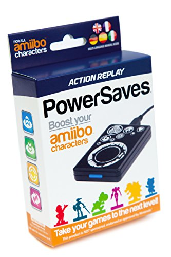 Action Replay PowerSaves amiibo, Cheat- & Boost-Portal (Nintendo 3DS XL/3DS e 2DS)