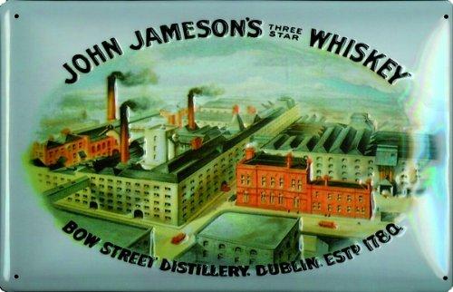 schild-alu-artdeco-john-jamesons-whiskey-300x200mm