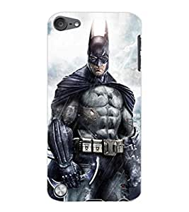 ColourCraft Superhero Design Back Case Cover for APPLE IPOD TOUCH 5