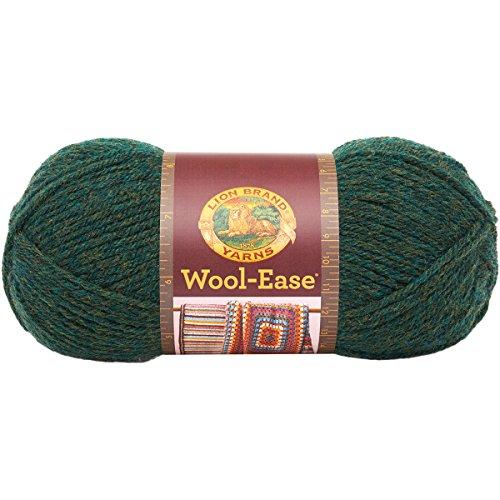 Lion Marke Garn Wool-Ease Garn Forest Green Heather (Heather Forest)