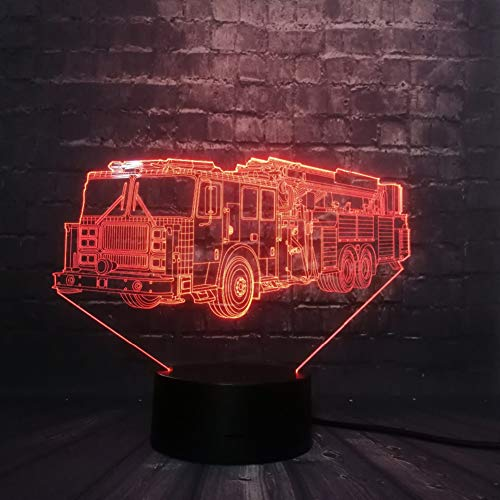 NSYW Fahrzeug Auto Track Spielzeug Für Jungen 3D Led Nachtlicht Dekor RGB USB Lampe Schlafzimmer Schlaf Licht 7 Farbwechsel Spielzeug - Serie-track-beleuchtung