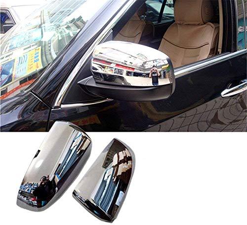 baodiparts 2 Pcs ABS En Plastique Chrome Avant T/ête de Brouillard Lampe Couverture L/ég/ère Garnitures De Voiture D/écoration Exterieurs