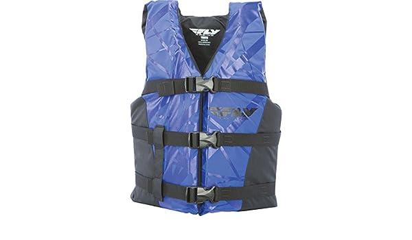 Fly Racing Unisex-Adult Nylon Vest Blue//Black XXX-Large 221-20112