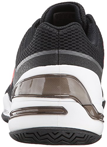 Adidas Performance Sonic Rally Chaussure de tennis, Orange / Gris foncé / or, 5 M Us Black/Solar Red/Metallic/Grey