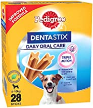 Pedigree Dentastix  Small Breed (5-10 kg) Oral Care Dog Treat (Chew Sticks) (28 Sticks) 440g Monthly Pack