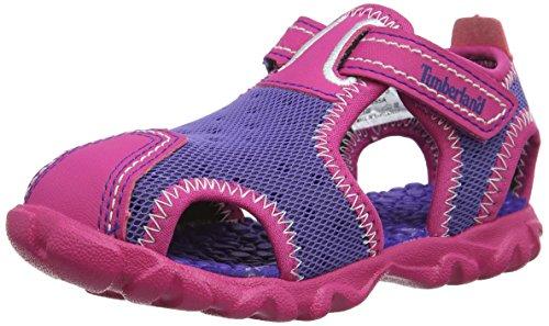 Timberland Splashtown FTK_Fisherman Baby Mädchen Lauflernschuhe, Rose (Purple/Pink), 21
