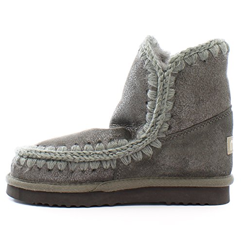 Mou Bottes en mouton Eskimo 18 Dust Iron Dust Iron