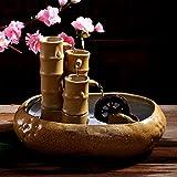 DHJUST Keramik Brunnen Luftbefeuchter Büro Zimmer Zhaocai Luftbefeuchter