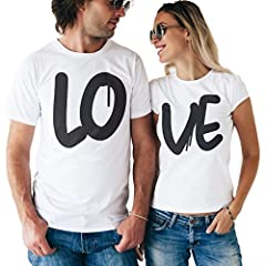 Idea Regalo - T-Shirt SAN VALENTINO COPPIA LO-VE by MUSH Dress Your Style