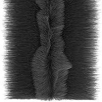 Stormguard 05am055007mbl Multi rollos puerta de garaje cepillo pelo burlete, Negro, 7m, Set de 2piezas