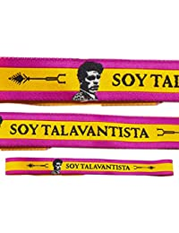 ALBERO Pulsera Soy TALAVANTISTA TAURINA España Tela - 3 Unidades - 29 X 1 05518e720e8