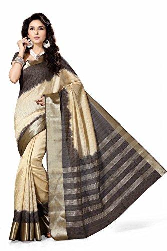 Rani Saahiba Self Design Art Silk Shaded Saree(Black_SKR1237)  available at amazon for Rs.895