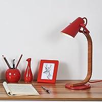 wysm Semplice Led Studio Soggiorno Camera da letto Lampada da comodino Eye Care Desk moda creativo decorazione di nozze a risparmio energetico della lampada