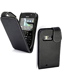 Gr8 value Luxury PU Leather Wallet Cover Flip Phone Mobile Case For Nokia E6
