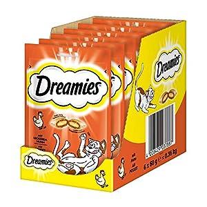 Dreamies Katzensnacks/Klassiker Klassiker, mit Huhn, 6 Beutel (6 x 60 g)
