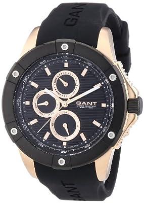 GANT W10953 - Reloj analógico de cuarzo para hombre, correa de plástico color negro de GANT