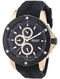 amazon co uk gant watches gant w10953 watch men quartz analogue black plastic bracelet