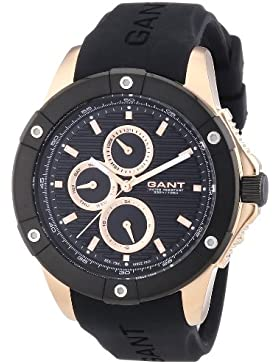 GANT Herren-Armbanduhr XL Analog Quarz Plastik W10953