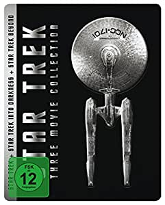 Star Trek - Three Movie Collection - Steelbook [Blu-ray] [Limited Edition]