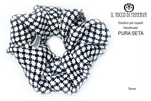 Elastische Seide Haar Torino Handgefertigt Made in ItalyMade in Italy- handgemacht - Mädchen Geschenk Mädchen - Geschenke für sie - Weihnachten -
