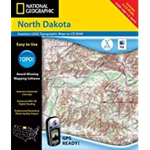 National Geographic North Dakota: Seamless Usgs Topographic Maps