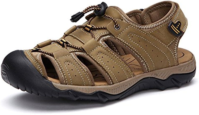 LEDLFIE Sommer Sandalen Strand Schuhe Freizeitschuhe Green 44LEDLFIE Sommer Sandalen Freizeitschuhe Green 44 Billig und erschwinglich Im Verkauf