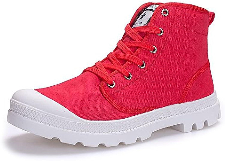 Estate Autunno 2018 scarpe da ginnastica ginnastica ginnastica Moda Uomo e Donna Large Dimensione High Top Canvas scarpe Stringate Antiscivolo Outsole Fino... | Outlet Store  | Uomini/Donne Scarpa  1c5f2b