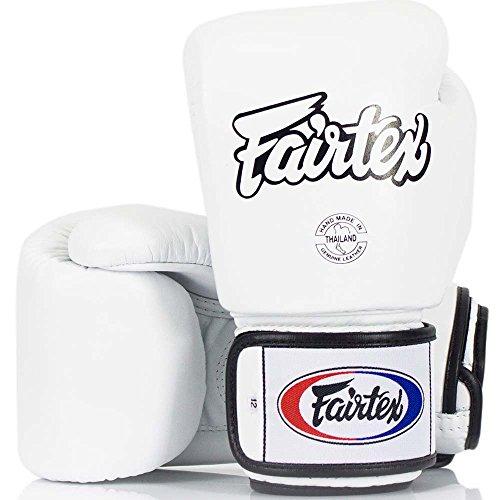 fairtex boxhandschuhe Fairtex Boxhandschuhe, BGV-1, weiß, Boxing Gloves MMA Muay Thai Thaiboxen Size 14 Oz