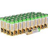 Batterien Mignon AA LR6 Vorratspack 40 Stück Super Alkaline Markenwaren GP Batteries, besonders langlebig und auslaufsicher
