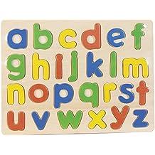 Puzzle Madera Letras Minúsculas