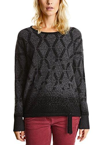 Cecil Damen Pullover 300347, Schwarz (Black 20001), XX-Large