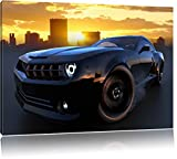 Porsche GT Cabrio braun Bild auf Leinwand, XXL riesige Bilder fertig gerahmt mit Keilrahmen, Kunstdruck auf Wandbild mit Rahmen, guenstiger als Gemaelde oder Bild, kein Poster oder Plakat, Format:120x80 cm