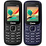 Snexian GURU Plus 312 Feature Mobile Phone Combo Of Two Mobiles(Black +Blue) With 1.8 Inch, Dual Sim, Open FM, 1000 Mah Battery, BLUETOOTH, CAMERA, Upto 16 GB Expandable Memory, BIS CERTIFIED & 1 YEAR WARRANTY