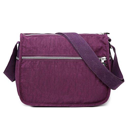 Moonbuy , Sacs bandoulière femme violet