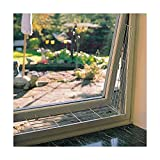 Trixie 4417 Schutzgitter für Fenster, eckig, 65 × 16 cm, weiß - 2