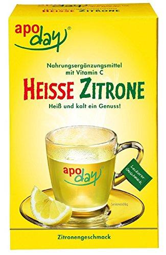 Vitamin C Zitrone (Apoday Heisse Zitrone Beutel, 10 St.)