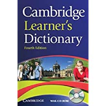 Cambridge Learners Dictionary (with CD-ROM)