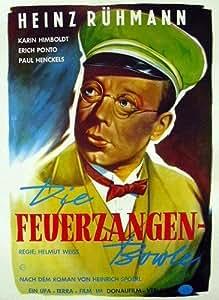 Amazon.de: Die Feuerzangenbowle (1944) / Filmplakat Poster