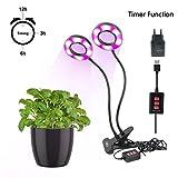 Best Jardin à la maison Plantes d'intérieur - LED Plant Light-Promouvoir Plant Grow With Timing Function Review
