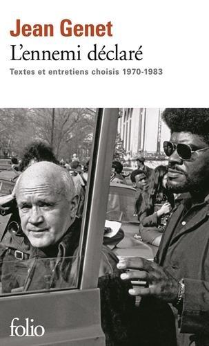L'ennemi déclaré: Textes et entretiens choisis (1970-1983)