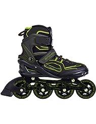 SPOKEY® TARON Inline Skates   Kinder   Damen   Herren   Inline Blades   ABEC 7 Karbon   Aluminium   Größen 37-46