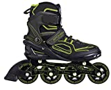 SPOKEY® TARON Inline Skates | Kinder | Damen | Herren | Inline Blades | ABEC 7 Karbon | Aluminium | Größen 37-46