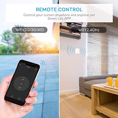 Google Home et IFTTT Ligne Neutre Requis Interrupteur d/'/Éclairage Sans Fils Interrupteur WiFi - 2 Canaux Fonction de Minuterie Maxcio Interrupteur Mural Intelligent Compatible avec Alexa Echo