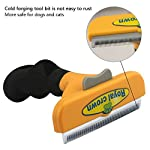 Long &Short Hair deShedding Tool for Dogs/Cats,Provides Excellent Pet Grooming Results With Minimal Effort 8