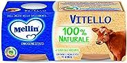 Mellin Omogeneizzato di Vitello 100% Naturale – 12 Vasetti da 80 gr