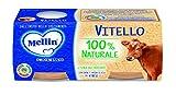 Mellin Omogeneizzato di Vitello 100% Naturale - 24 Vasetti da 80 gr