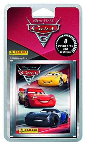 Panini france sa cars 3 movie blister 8 pochettes 2319 038 non