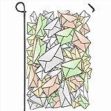 VVGETE Outdoor Garten Flagge 30X45 cm Clip Dynamische Mail Adresse E-Mail Umschlag Grafik Brief Wohnkultur Saisonale Doppelseiten Haus Hof Zeichen B